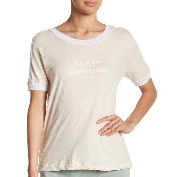 Wildfox yes I'm ignoring you tee
